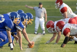 Best Football Plays - Kick Off Huddle