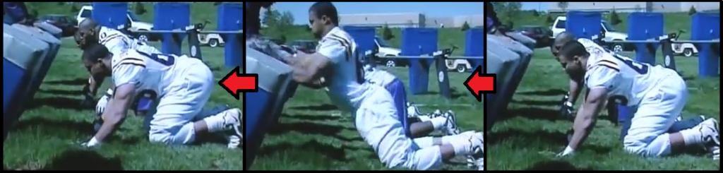 football linemen workouts