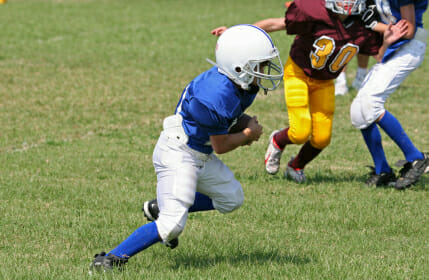 Youth Football Practice Drills Team Challenges Football