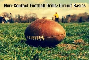 football practice drill