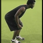 defensive back stance