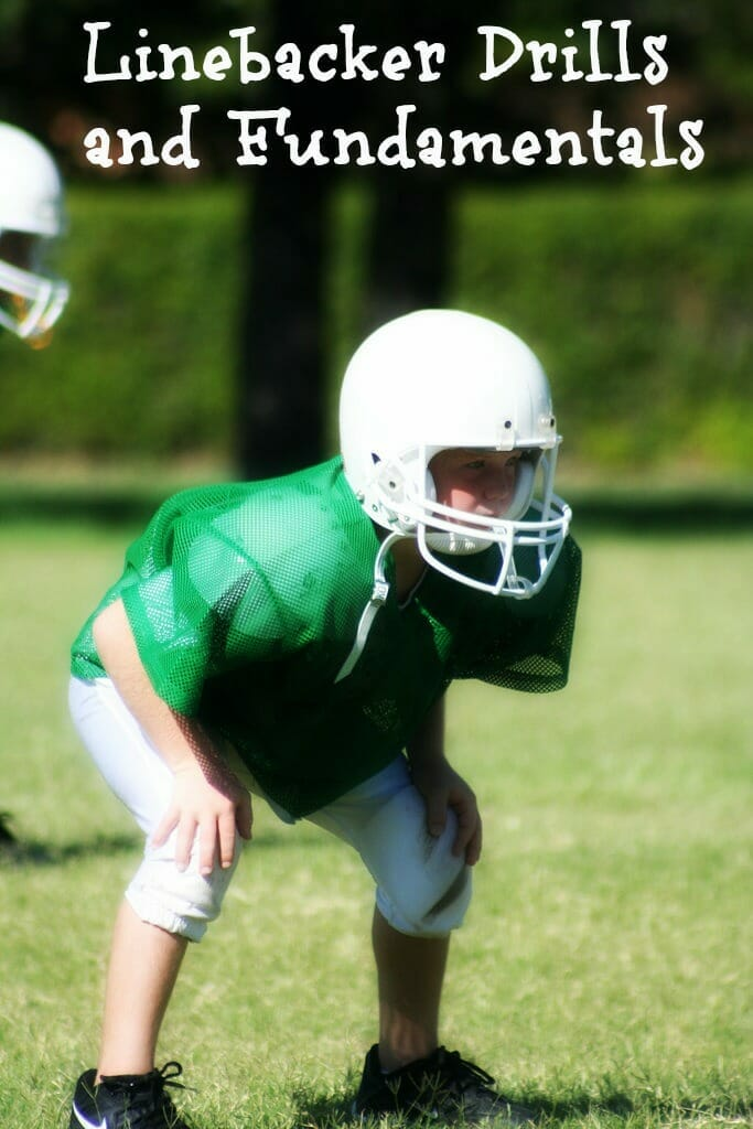 youth football linebacker