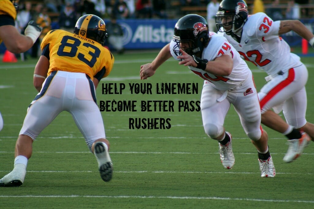pass rush football drills