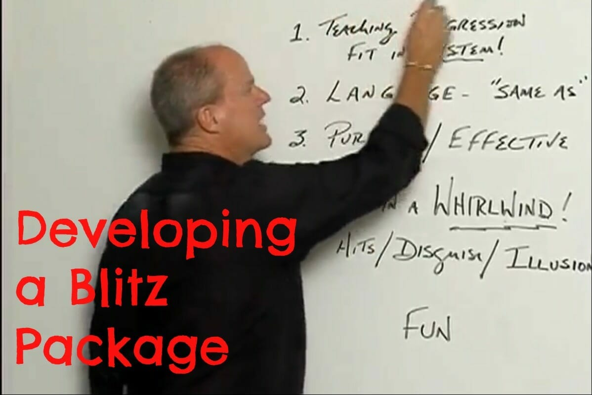 youth football blitz package