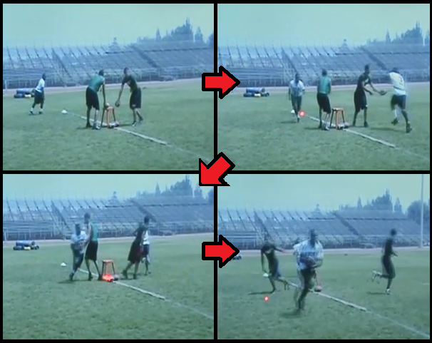 jet sweep football drill