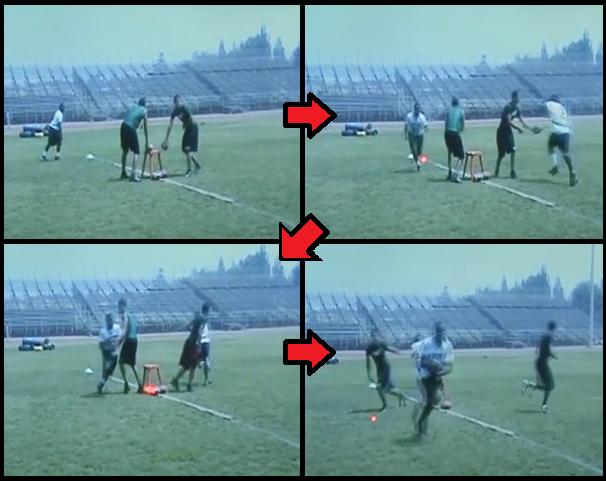 jet sweep football drill
