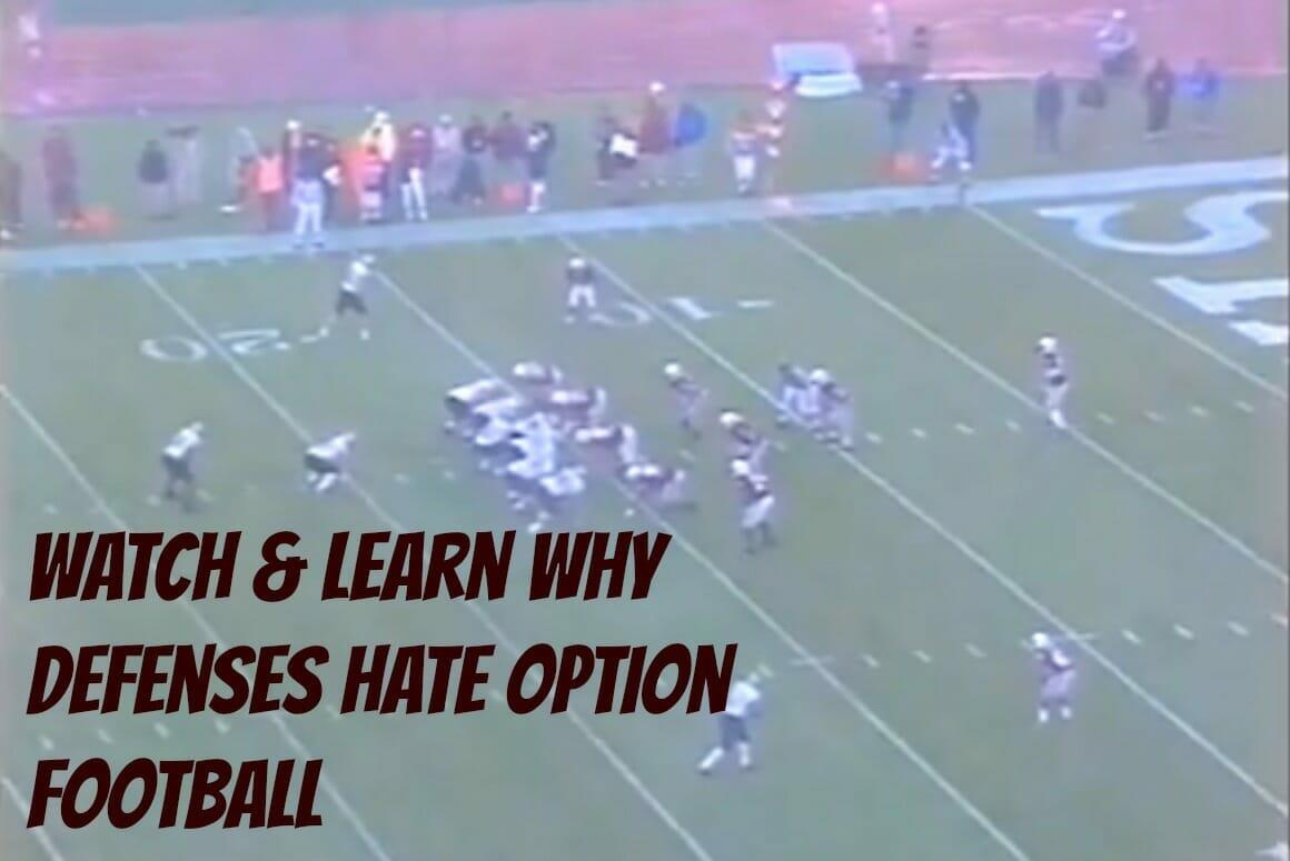 option football plays