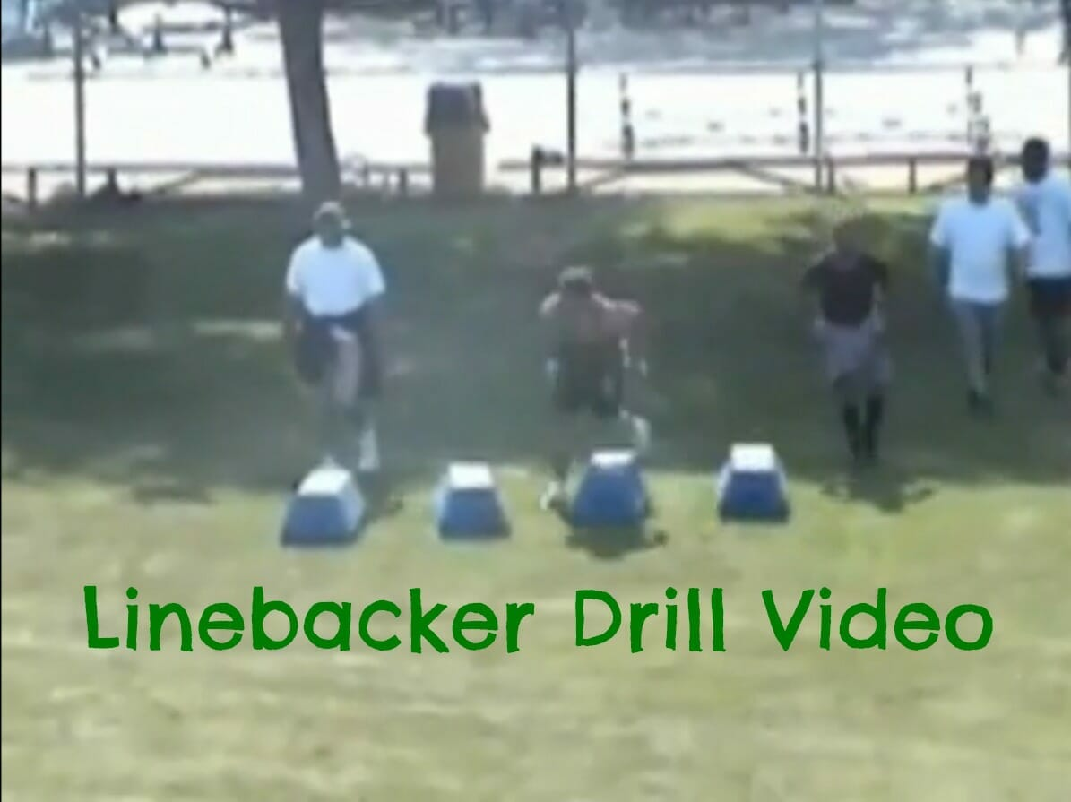 pee wee football drill