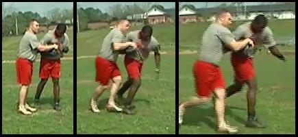 ball security football drill