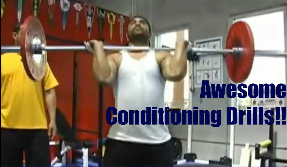 conditioning drill video