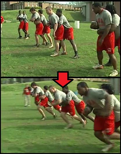 piggyback youth football drill