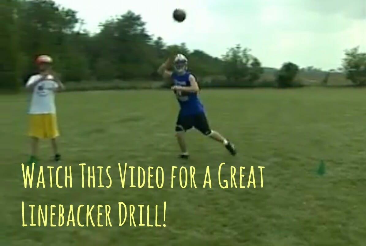 linebacker drill video
