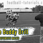 Video: Defensive Back Drill – The Buddy Drill