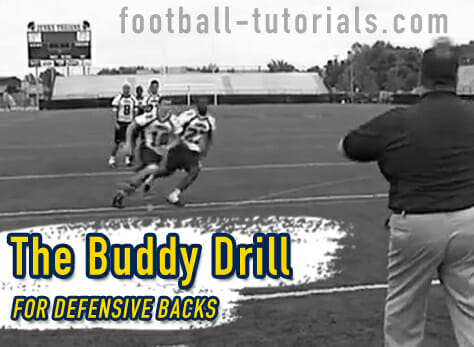 Defensive Back Drills - The Buddy Drill