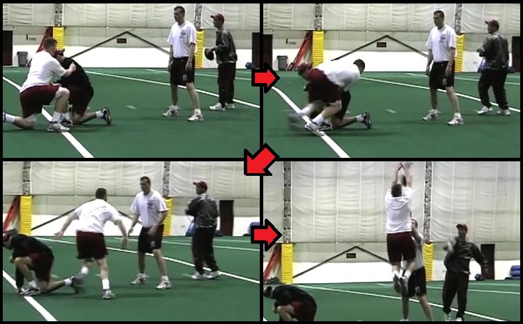 indicator defensive line football drill