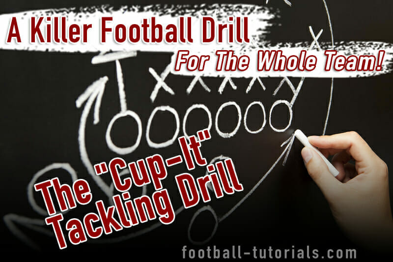 tackling football drill