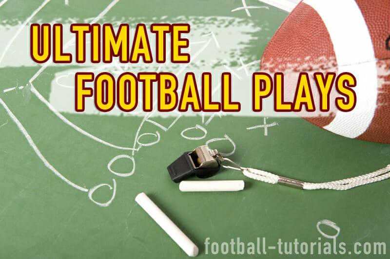 ultimate football plays