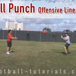 """Ball Punches"" Offensive Line Drill for Warmup"