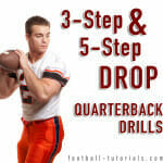 Three-Step & Five-Step Drop Quarterback Drills