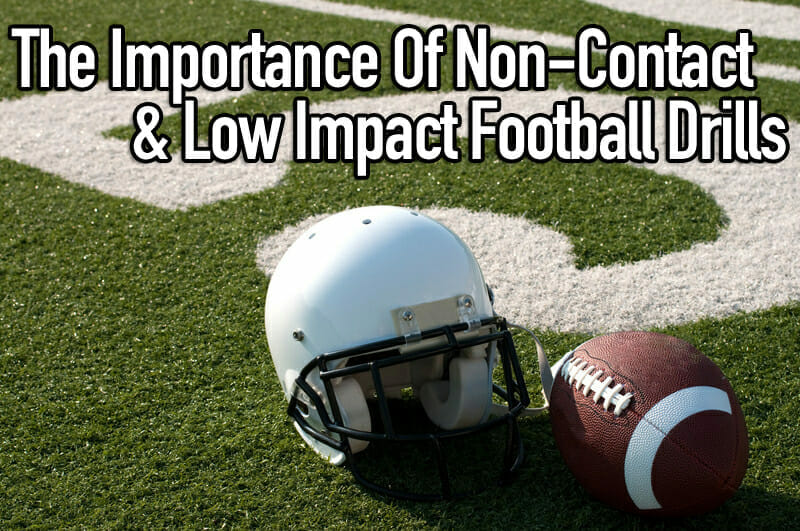 non contact football drills