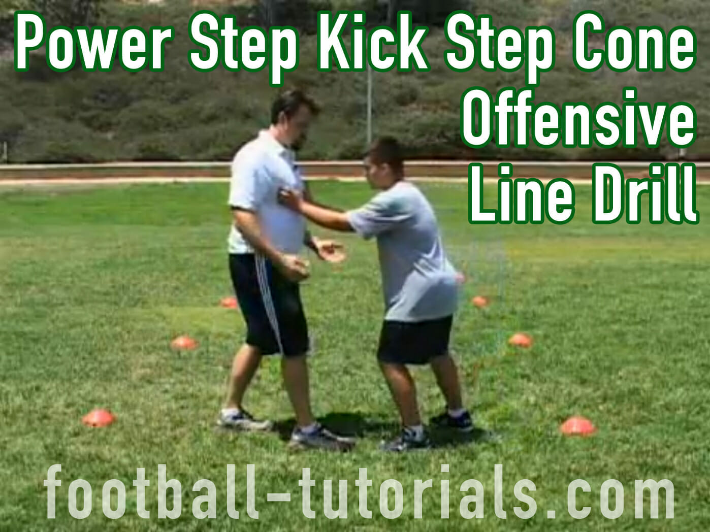 offensive line drill