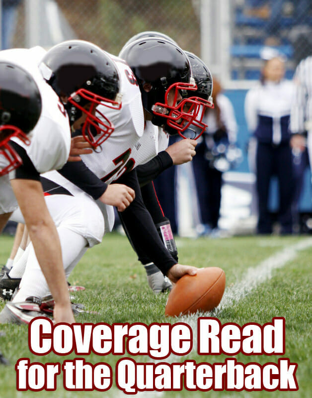 quarterback coverage read