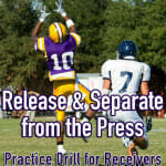 practice drill for receviers