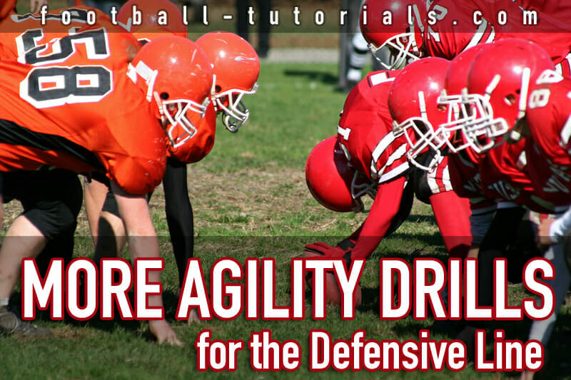 more defensive line agility drills