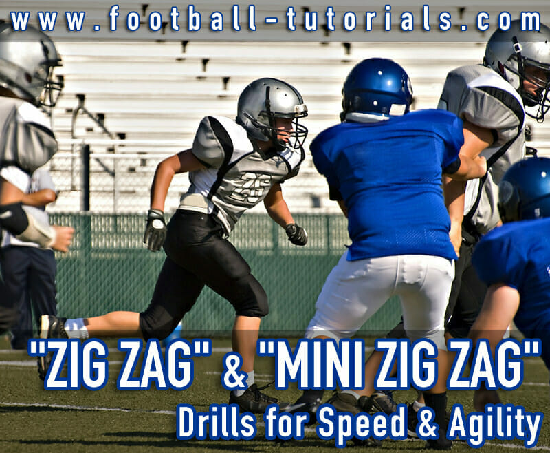 zig zag conditioning drill
