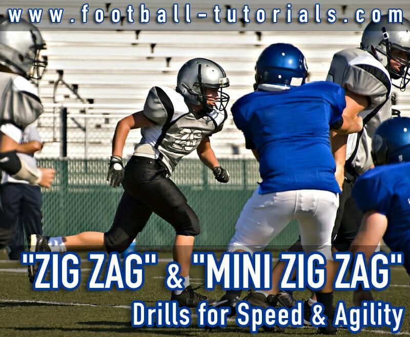 zig zag conditioning drill