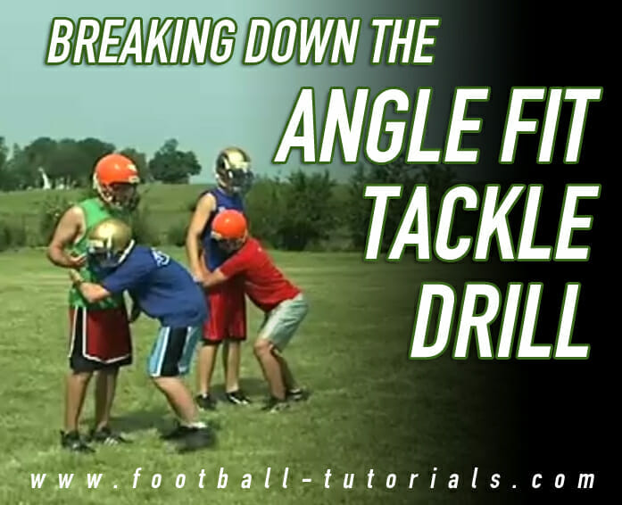 angle fit tackle drill