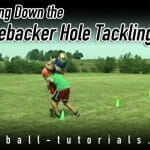 linebacker hole tackling drill