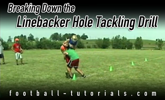 linebacker hole tackling drill
