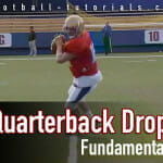 quarterback drop fundamental