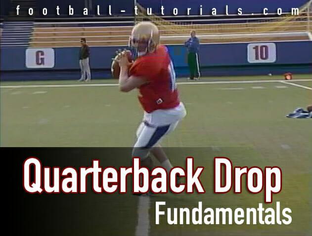 quarterback drop fundamental