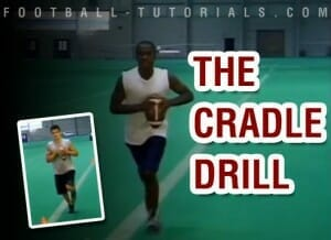 CRADLE DRILL QUARTERBACK FUNDAMENTALS