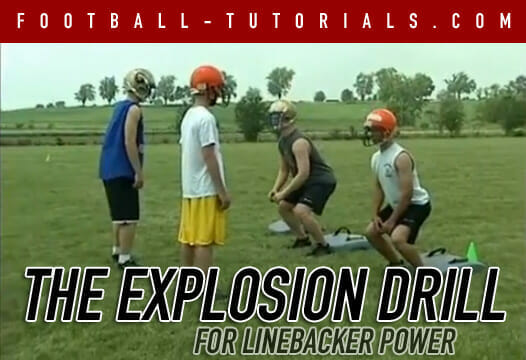 3 Linebacker Footwork Drills for Speed and Quickness