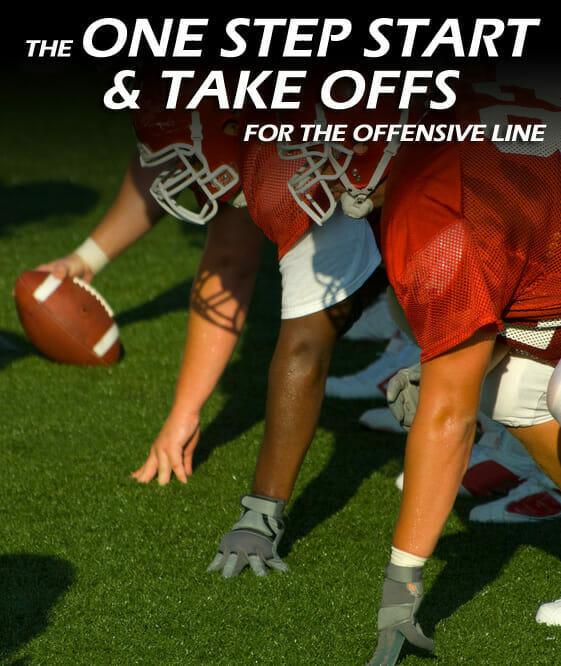 ONE STEP START AND TAKEOFFS offensive line development 2