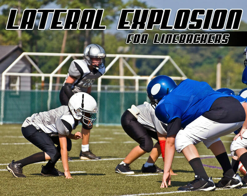 LATERAL EXPLOSION LINEBACKER DRILL