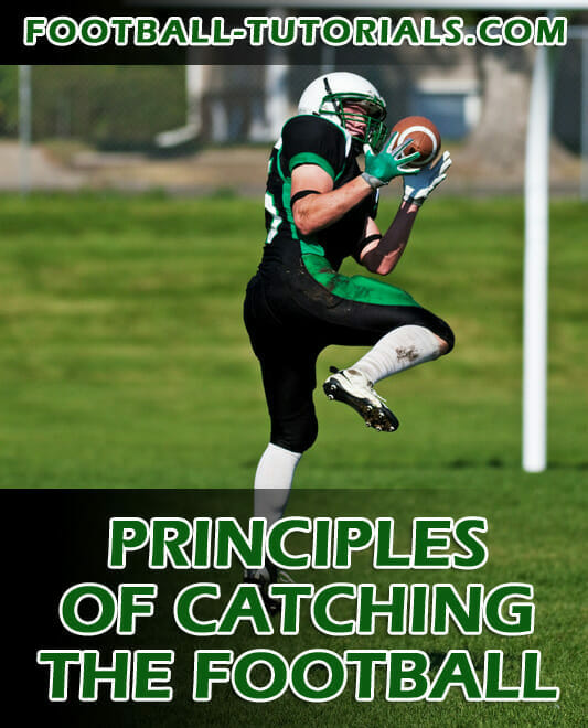 wide receiver catching