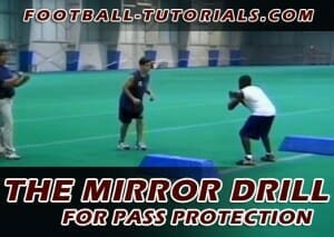 MIRROR DRILL RUNNING BACK PASS PROTECTION