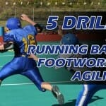 RUNNING BACK FOOTWORK 5 DRILLS