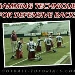 jamming technique for defensive backs