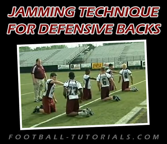 jamming technique for defensive backs