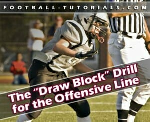 offensive line draw block drill2