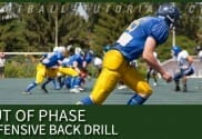 OUT OF PHASE DEFENSIVE BACK DRILL 2
