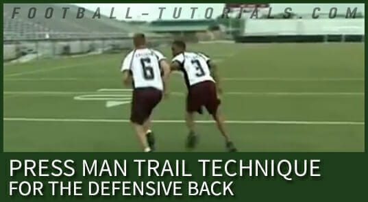 PRESS MAN TRAIL FOR DEFENSIVE BACK 4