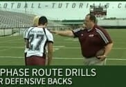 IN PHASE ROUTE DRILL FOR DEFENSIVE BACKS 4