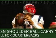 open shoulder ball carrying drill