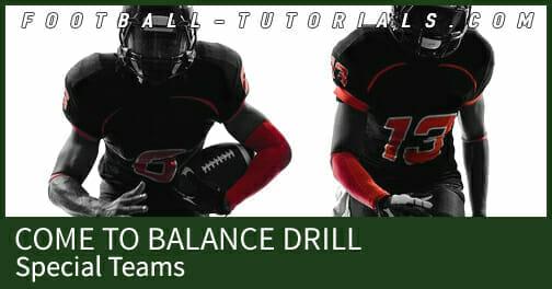 come to balance special teams
